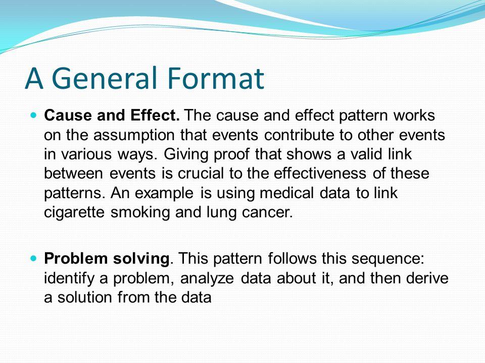 A General Format