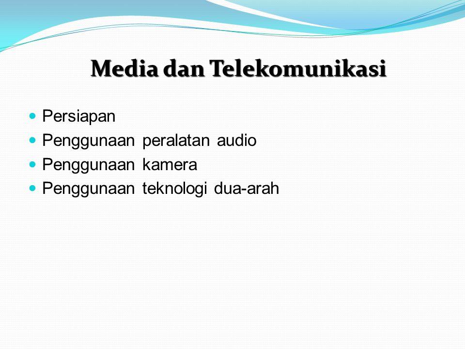 Media dan Telekomunikasi