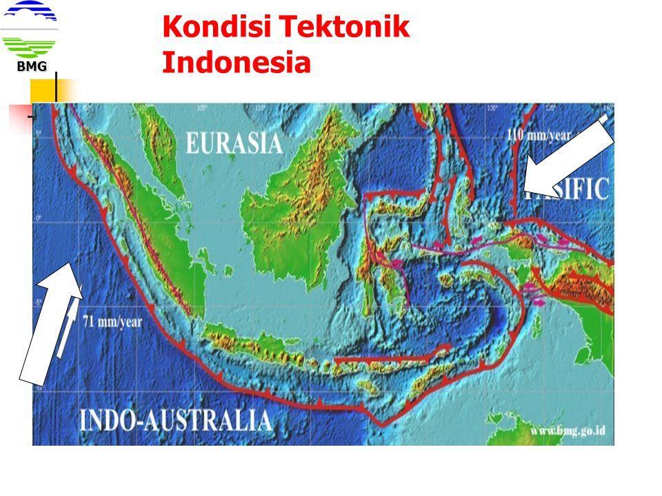 Kondisi Tektonik Indonesia