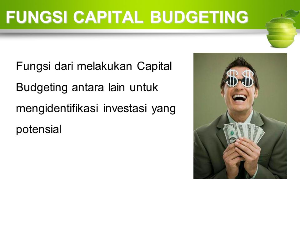 FUNGSI CAPITAL BUDGETING