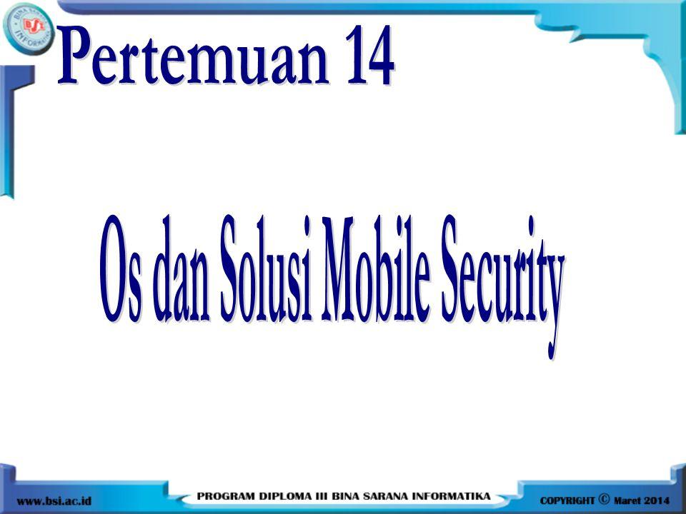 Os dan Solusi Mobile Security