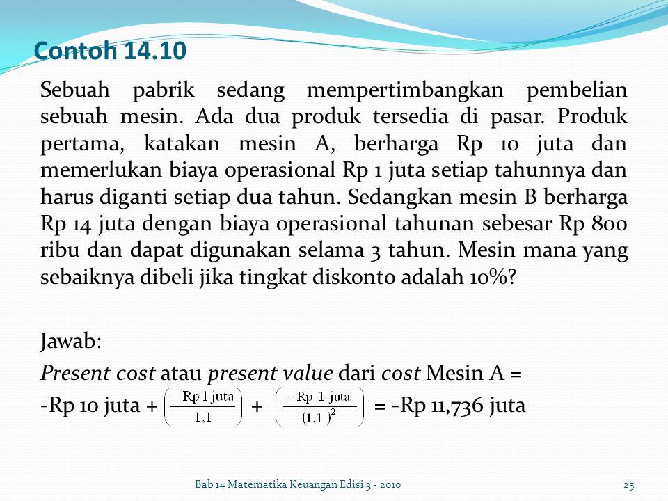 Contoh 14.10