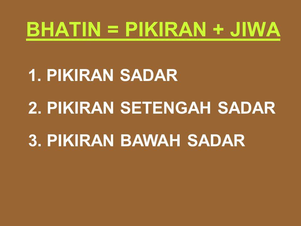 2. PIKIRAN SETENGAH SADAR