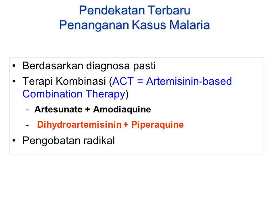Pendekatan Terbaru Penanganan Kasus Malaria