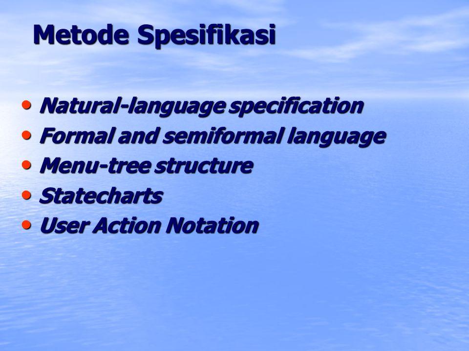 Metode Spesifikasi Natural-language specification