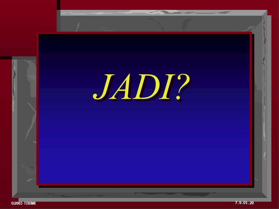 JADI 20