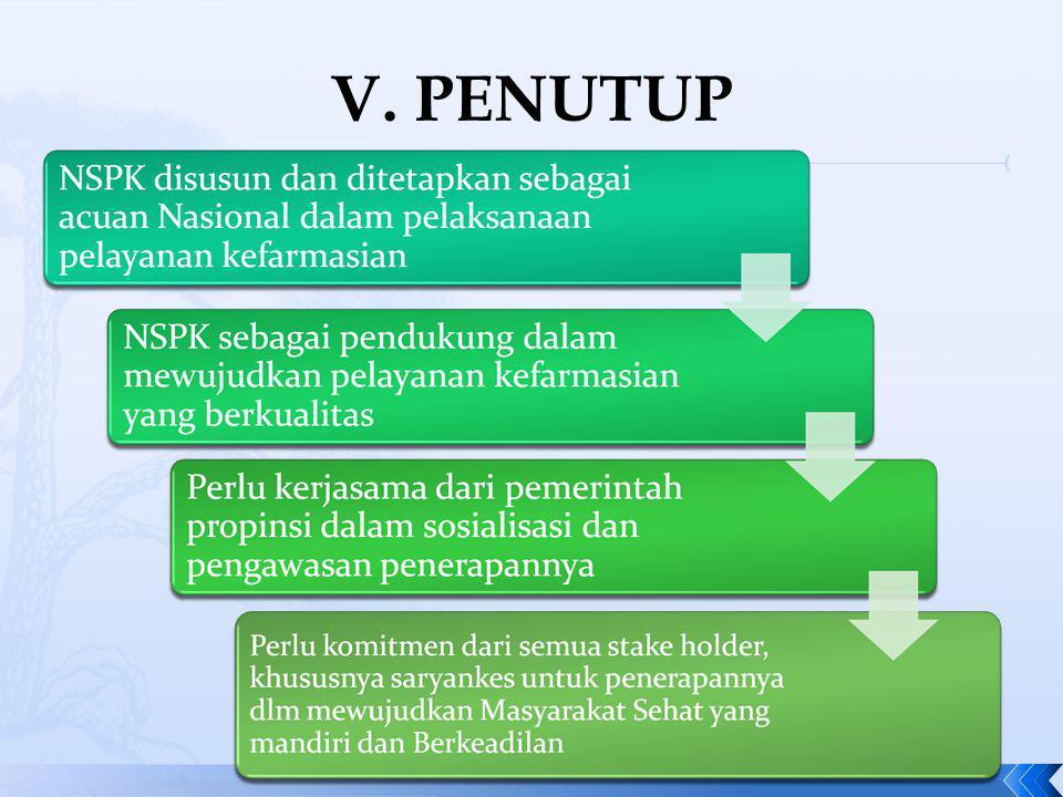 V. PENUTUP