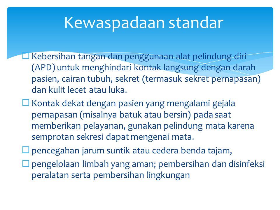 Kewaspadaan standar