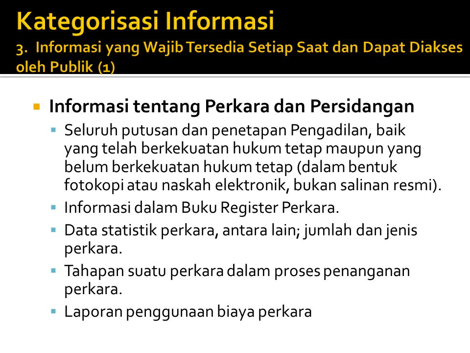 Kategorisasi Informasi 3