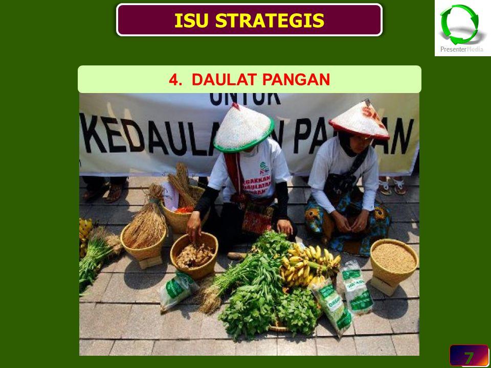 ISU STRATEGIS 4. DAULAT PANGAN 7 7