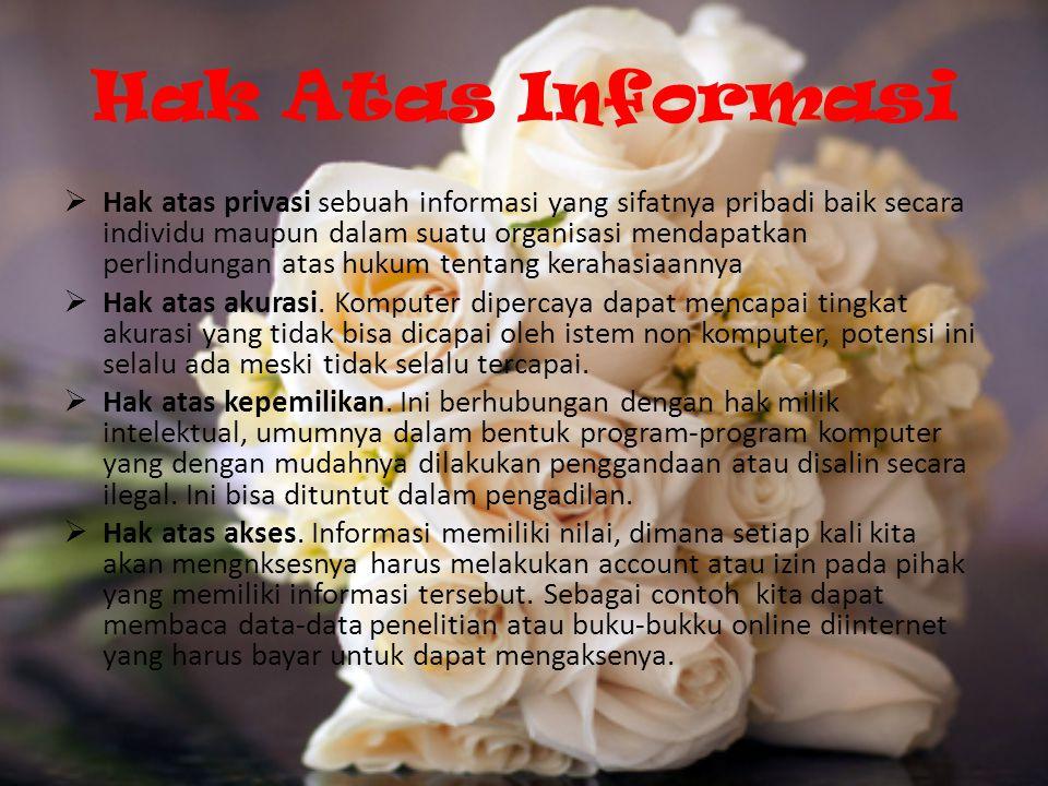 Hak Atas Informasi