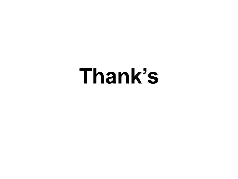 Thank's