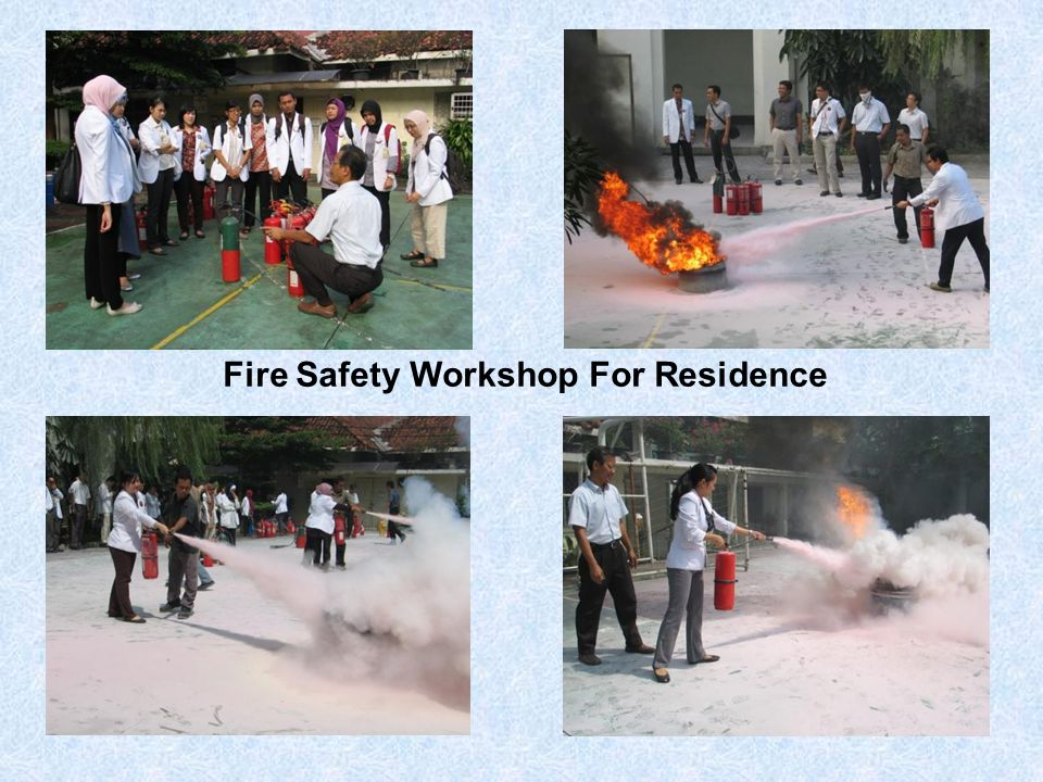 Fire Safety Workshop For Residence