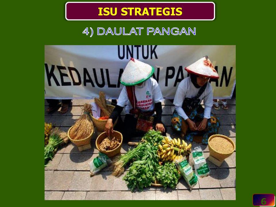 ISU STRATEGIS 4) DAULAT PANGAN 6 6