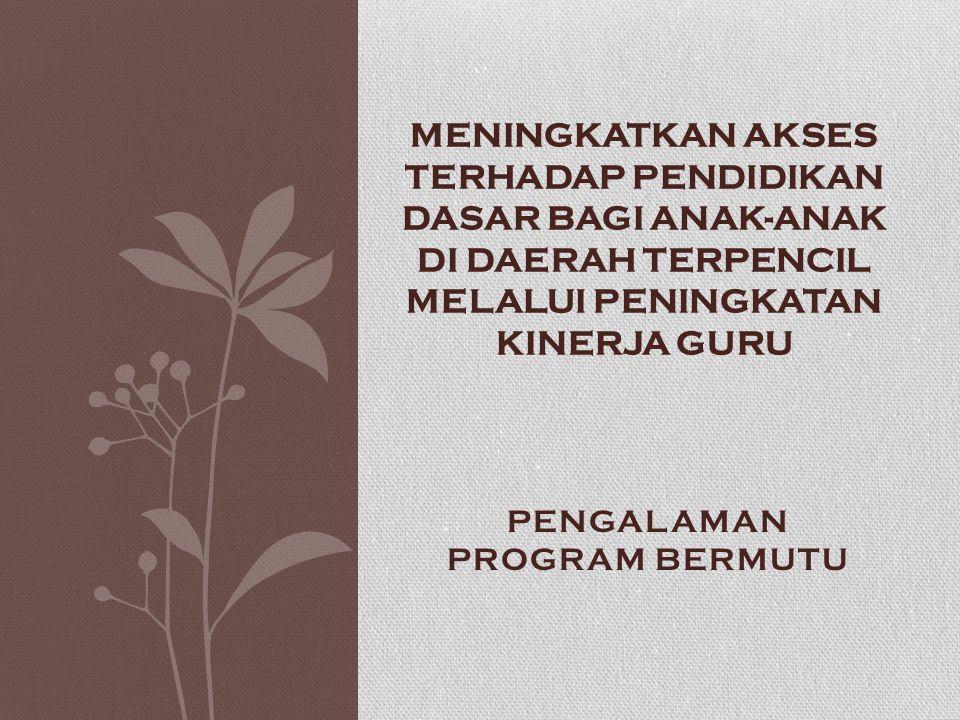 PENGALAMAN PROGRAM BERMUTU