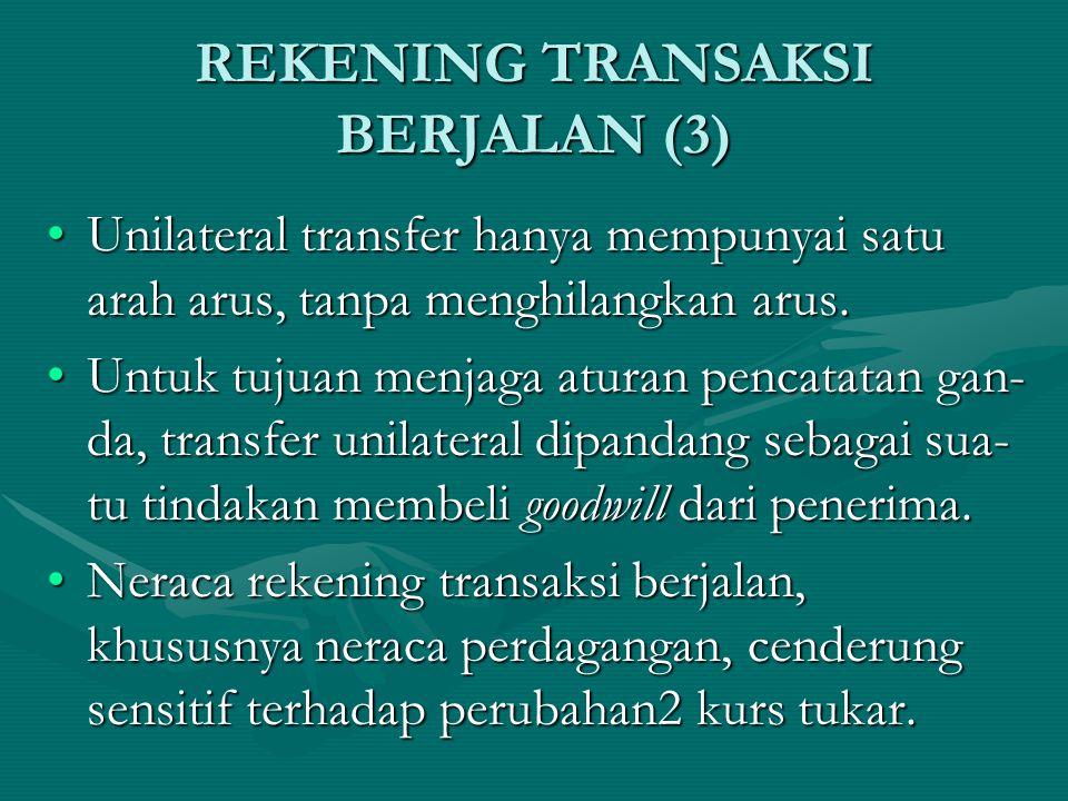 REKENING TRANSAKSI BERJALAN (3)
