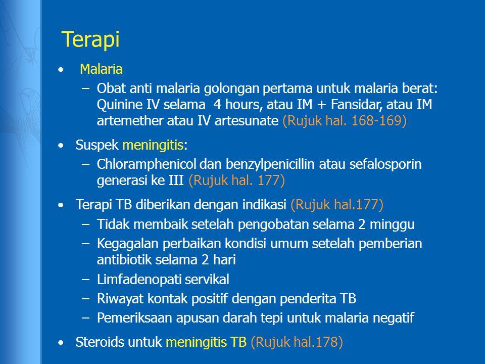 Terapi Malaria.