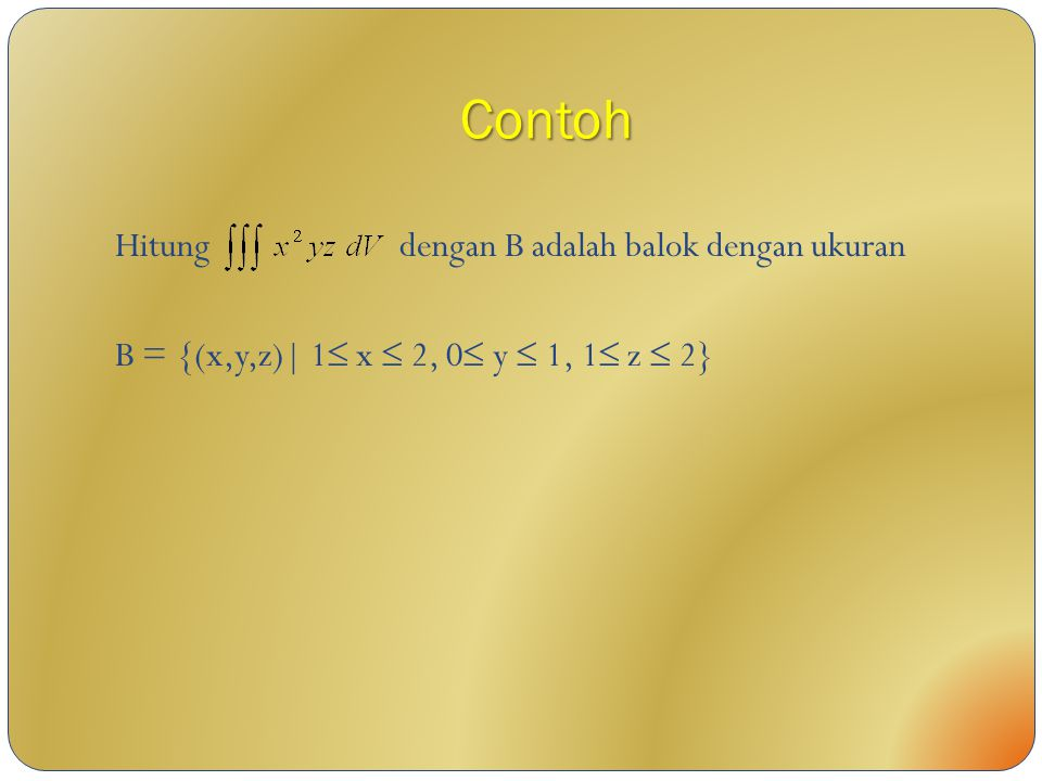 Contoh Hitung dengan B adalah balok dengan ukuran