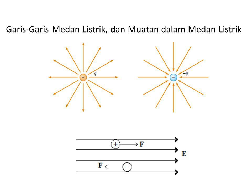 Garis-Garis Medan Listrik, dan Muatan dalam Medan Listrik