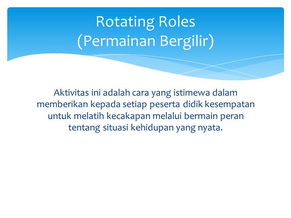 Rotating Roles (Permainan Bergilir)