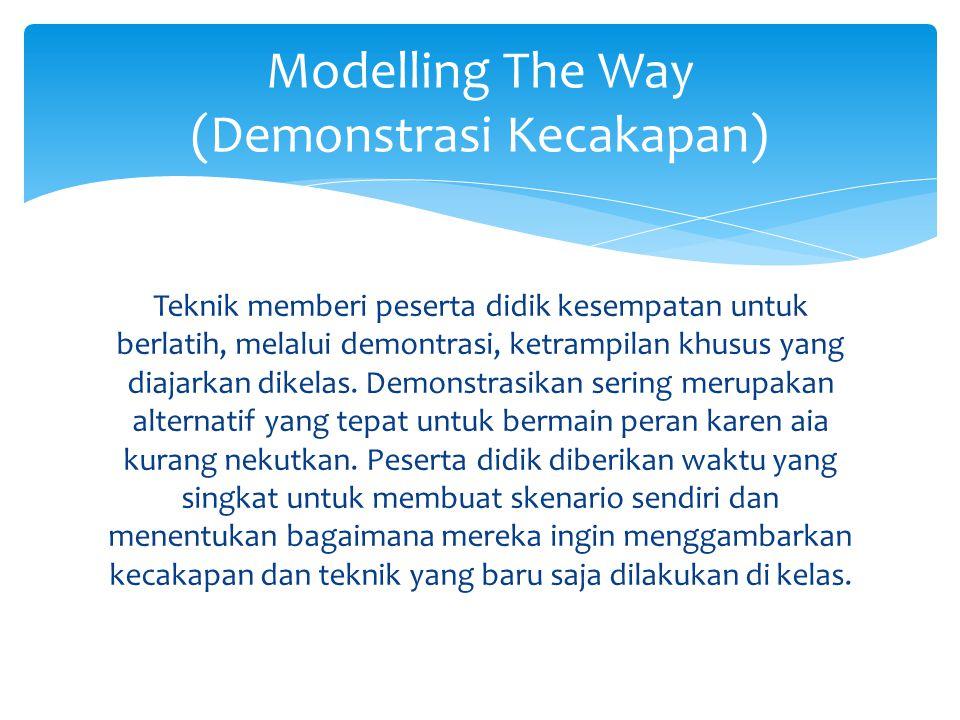 Modelling The Way (Demonstrasi Kecakapan)