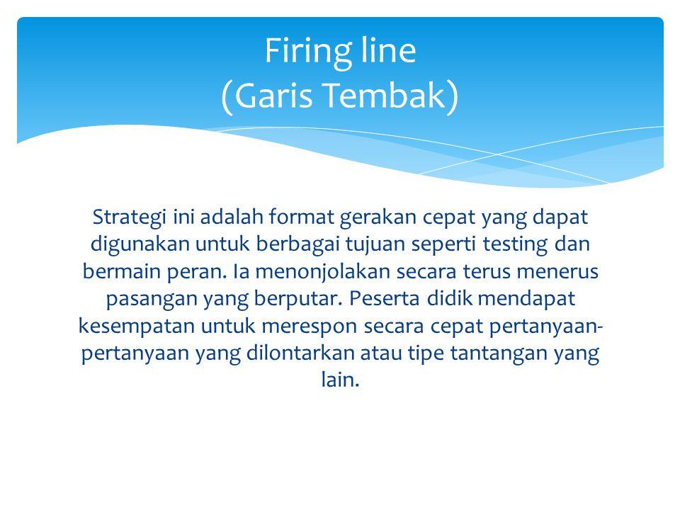 Firing line (Garis Tembak)