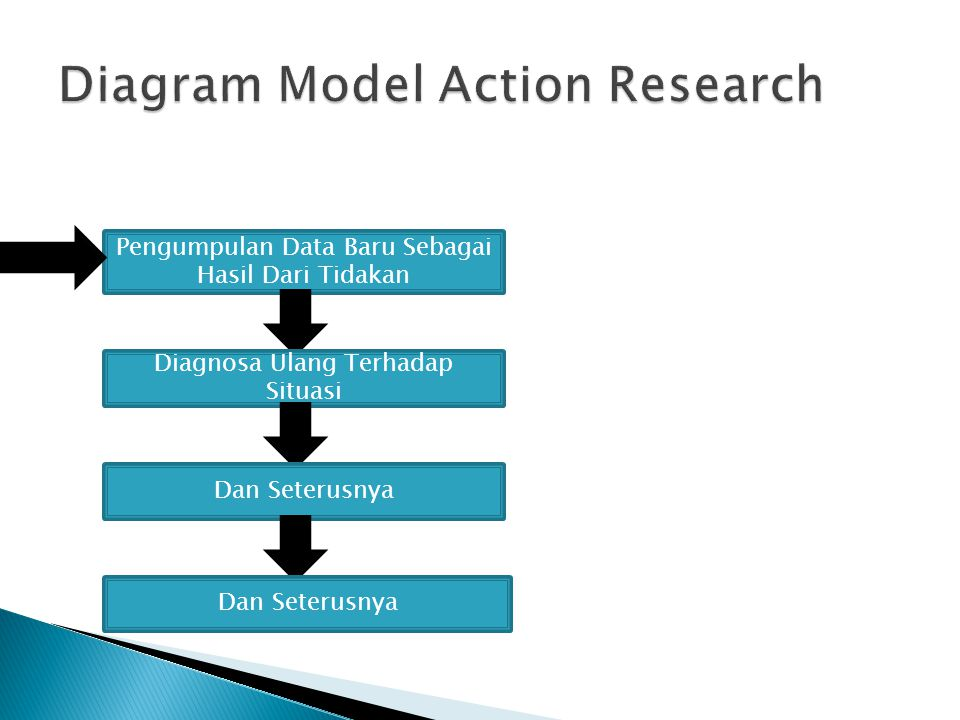 Diagram Model Action Research
