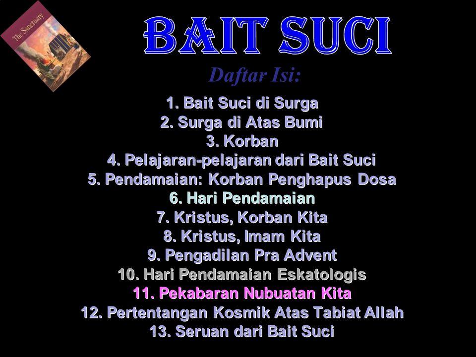 BAIT SUCI Daftar Isi: