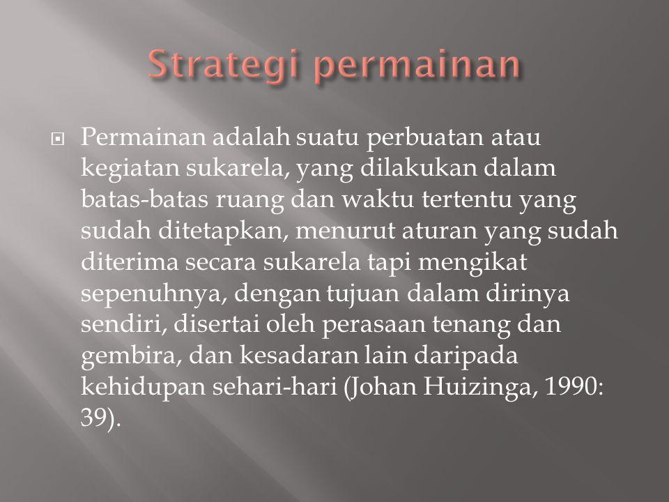 Strategi permainan