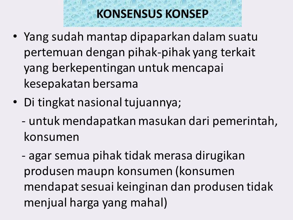 KONSENSUS KONSEP