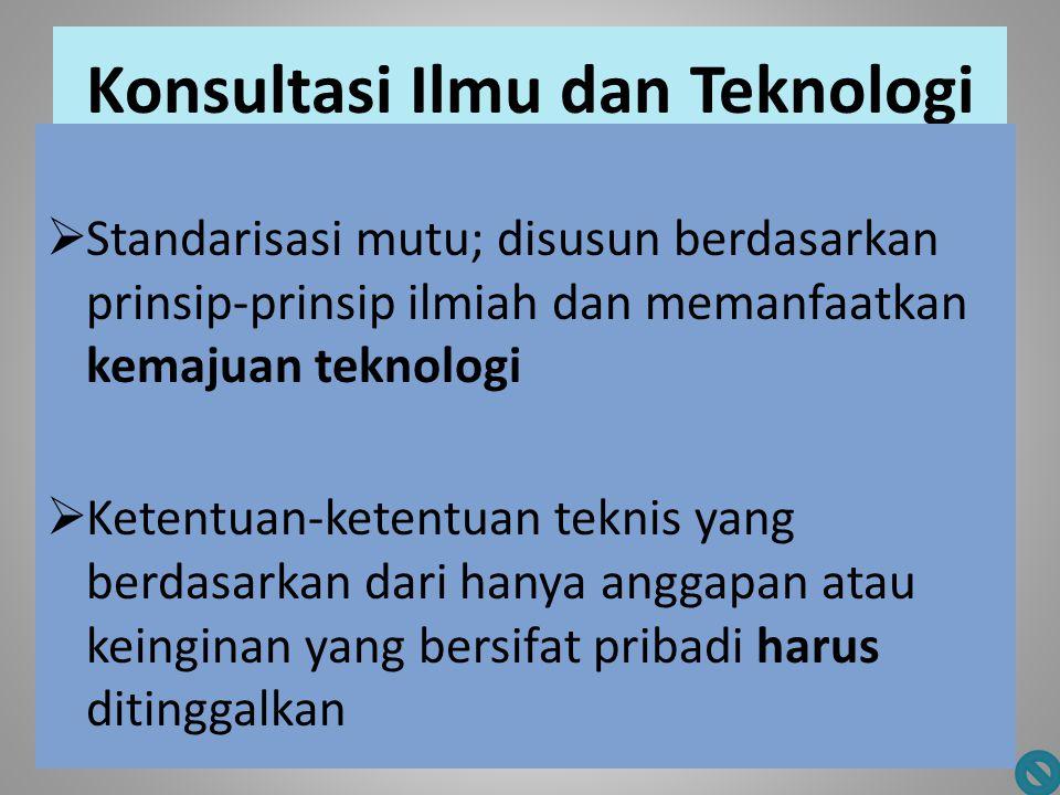Konsultasi Ilmu dan Teknologi