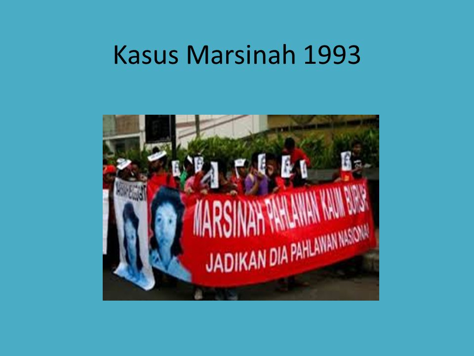 Kasus Marsinah 1993