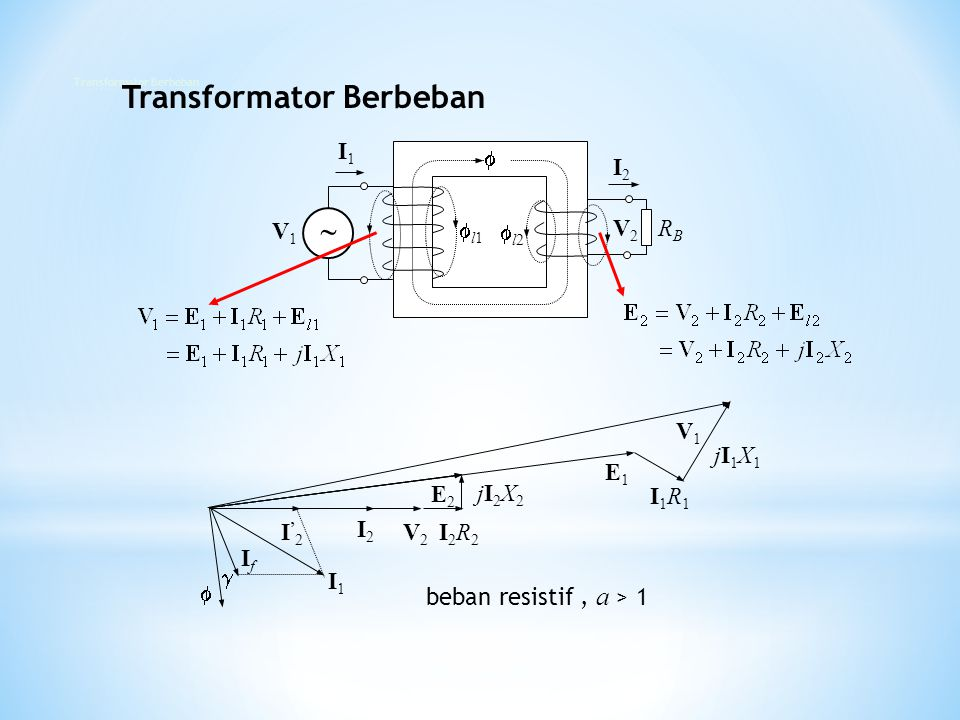 Transformator Berbeban