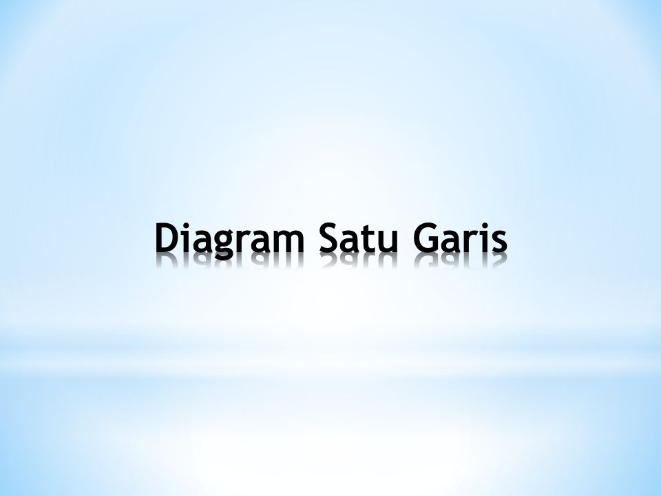Diagram Satu Garis