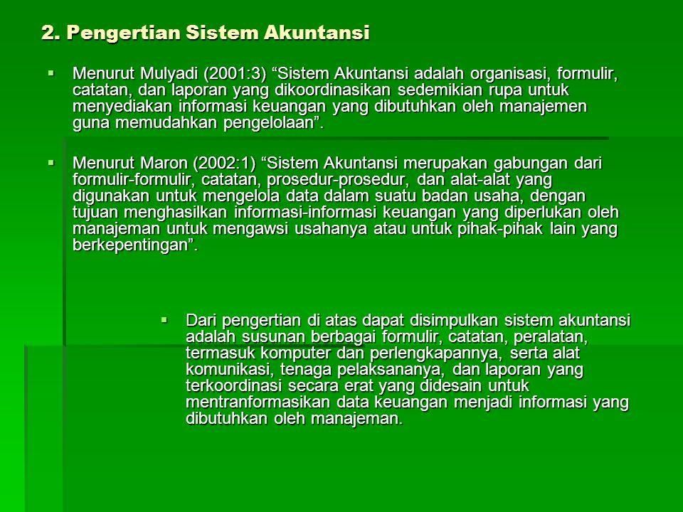 2. Pengertian Sistem Akuntansi