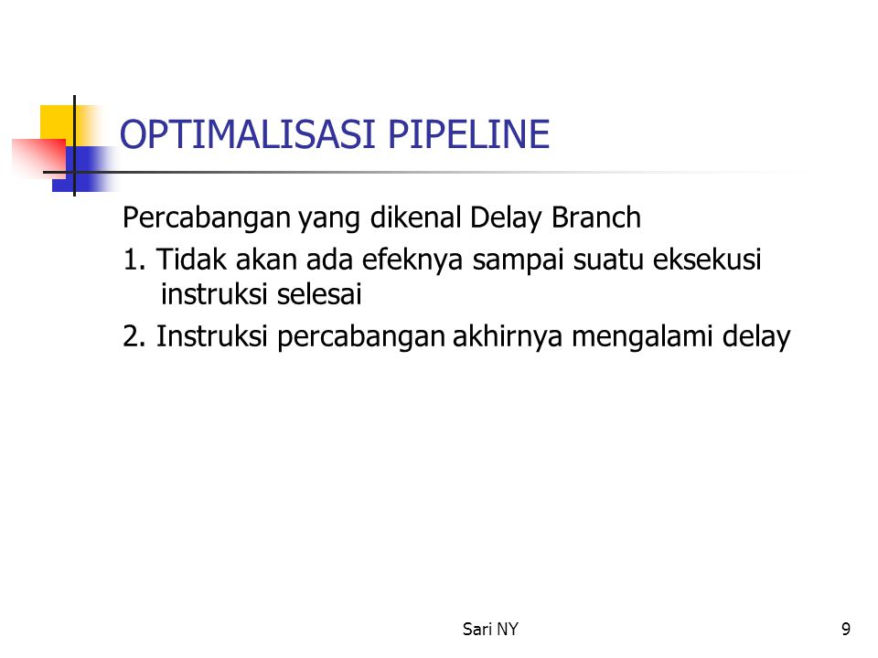 OPTIMALISASI PIPELINE