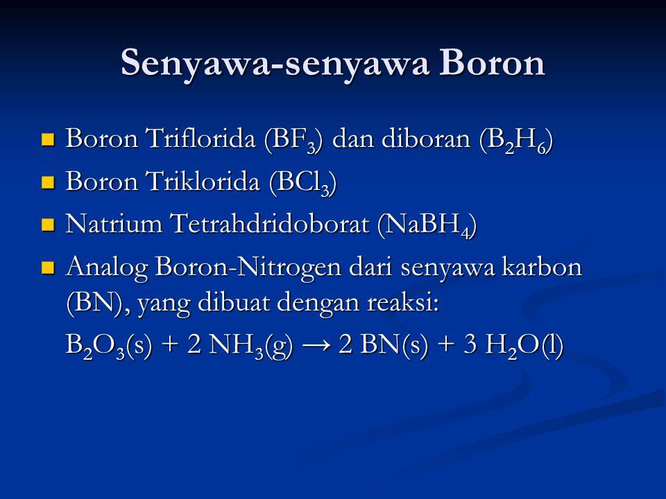 Senyawa-senyawa Boron