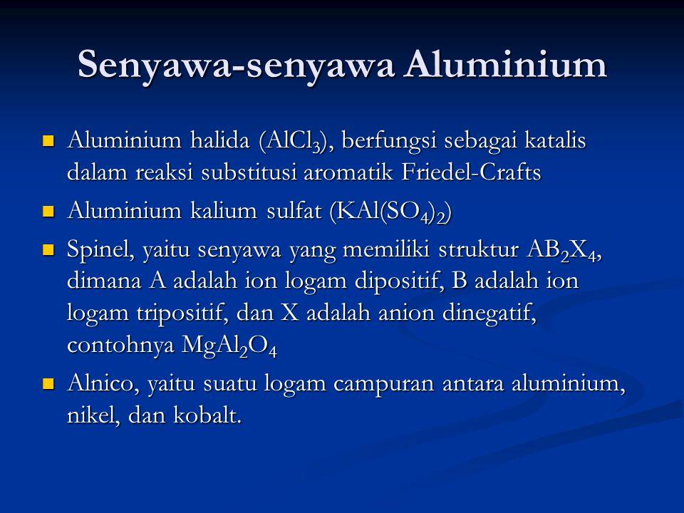 Senyawa-senyawa Aluminium