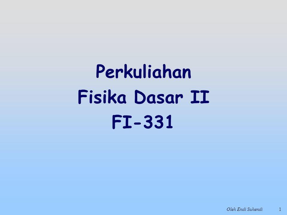 Perkuliahan Fisika Dasar II FI-331