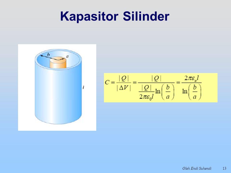 Kapasitor Silinder