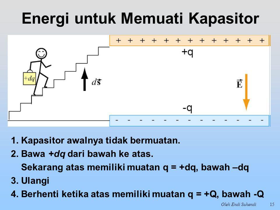 Energi untuk Memuati Kapasitor