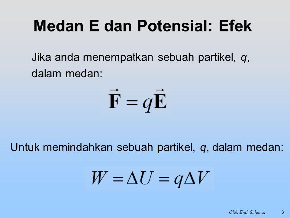 Medan E dan Potensial: Efek