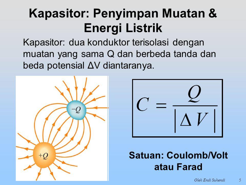 Kapasitor: Penyimpan Muatan & Energi Listrik