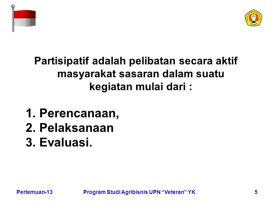 Program Studi Agribisnis UPN Veteran YK