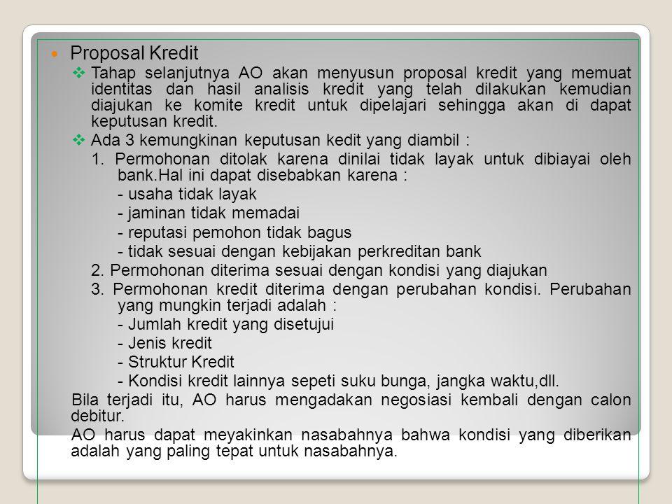 Proposal Kredit