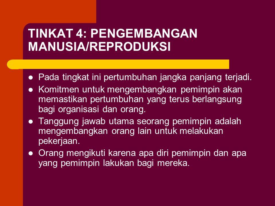 TINKAT 4: PENGEMBANGAN MANUSIA/REPRODUKSI