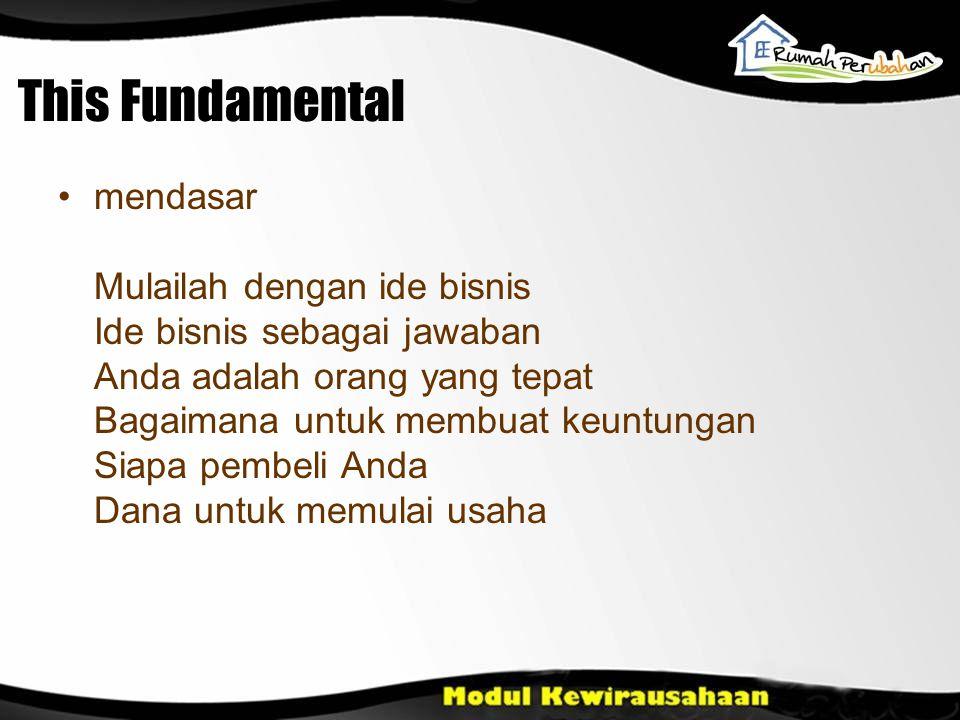 This Fundamental