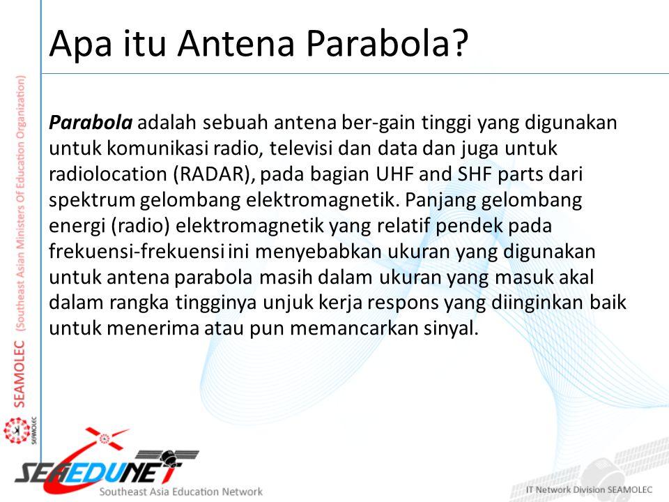 Apa itu Antena Parabola