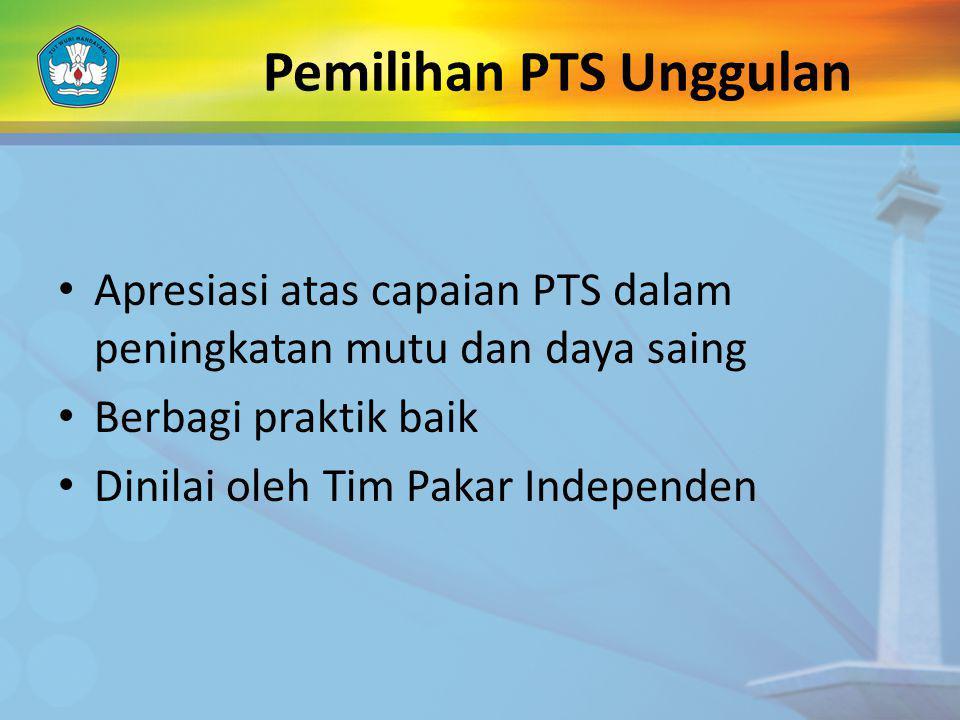 Pemilihan PTS Unggulan