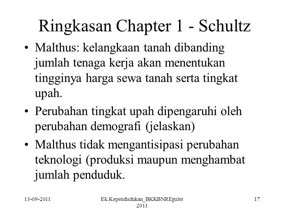 Ringkasan Chapter 1 - Schultz